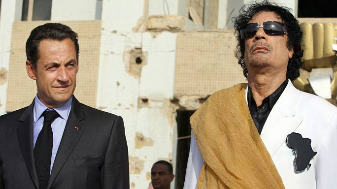 ما علاقة ساركوزي بمقتل القذافي؟