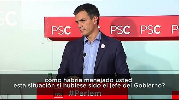 ¿Qué habría hecho Pedro Sánchez en la crisis catalana si fuera presidente del Gobierno?