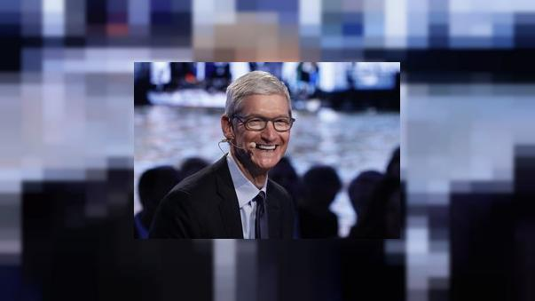La visite surprise du patron d'Apple