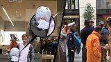 اعتقال شاب يرتدي قناع قرش في إطار قانون لحظر النقاب والبرقع في النمسا