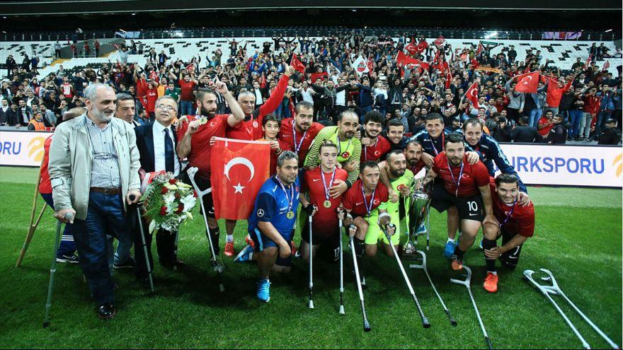 Ampute Milli Futbol Takımı Avrupa Şampiyonu oldu