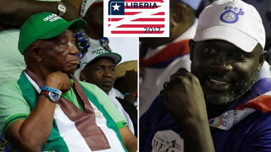 [LIVE] Weah, VP Boakai to face off in November 7 Liberia election run-off