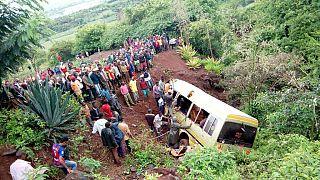 Tanzanie : un minibus se renverse dans un lac, 12 morts