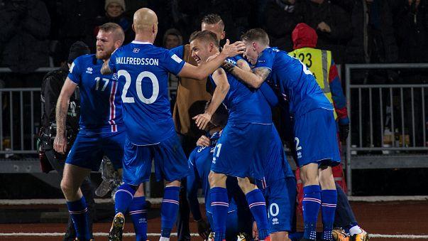 أيسلندا أصغر دولة تبلغ نهائيات كأس العالم روسيا 2018