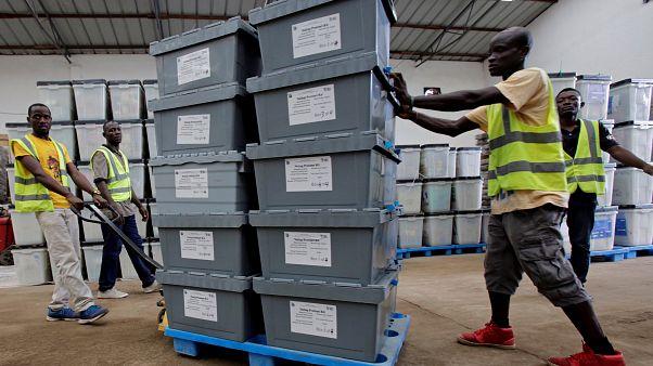 Λιβερία: Στις κάλπες για την εκλογή προέδρου