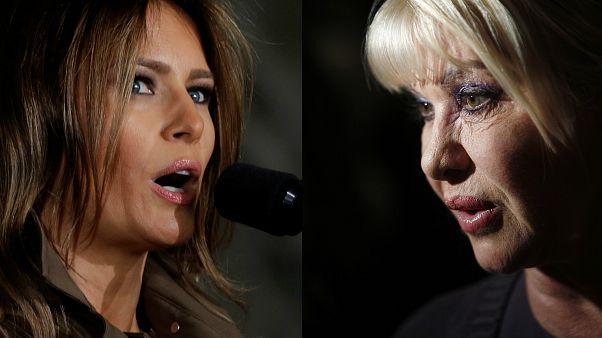"""حرب بين إيفانا وميلانيا ترامب على لقب """"السيدة الأولى"""""""