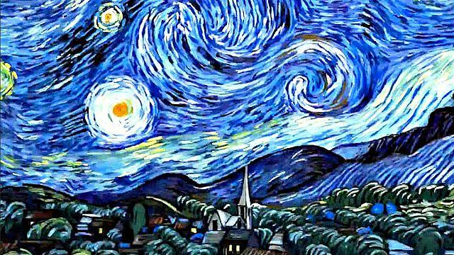 "Van Gogh animado em ""Loving Vincent"""