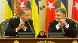 رجب طیب اردوغان: ضمیمه شدن کریمه به روسیه را به رسمیت نمیشناسیم