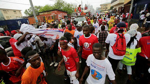 Libéria elnökjelöltjei