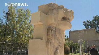 Το λιοντάρι της Παλμύρας «βρυχάται» και πάλι – ΒΙΝΤΕΟ