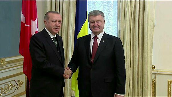 """Эрдоган: присоединение Крыма - """"незаконная аннексия"""""""