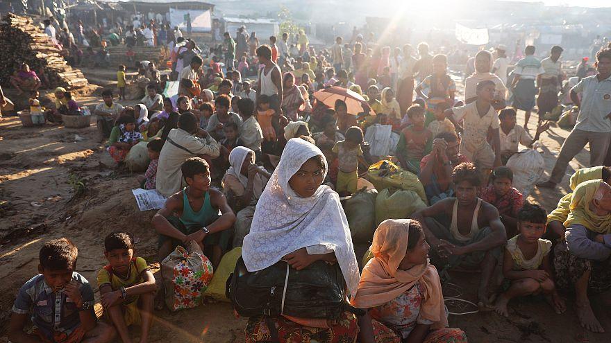 حملة ضد الكوليرا في مخيمات الروهينغا ببنغلادش