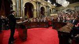 """Carles Puigdemont: """"Assumo mandato do povo para fazer da Catalunha um estado independente"""""""