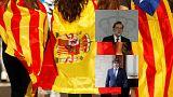 """Puigdemont: """"Indipendenza ma sospesa per dialogare con Spagna"""""""