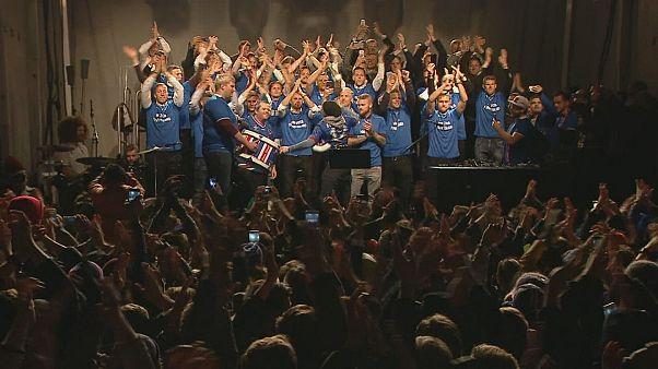 Depois do França2016, grito da Islândia vai animar o Mundial2018