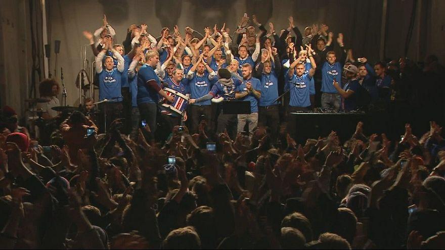 Праздник исландского футбола