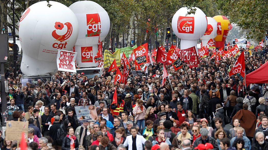 Francia: il pubblico impiego in strada contro le riforme di Macron