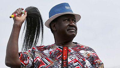 Kenya : l'opposant Odinga annonce son retrait de la présidentielle du 26 octobre