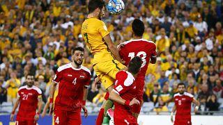 FIFA 2018: Suriye play off eşleşmesinde Avustralya'ya elendi