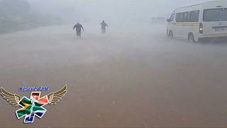 South Africa hit by storms and flash flooding