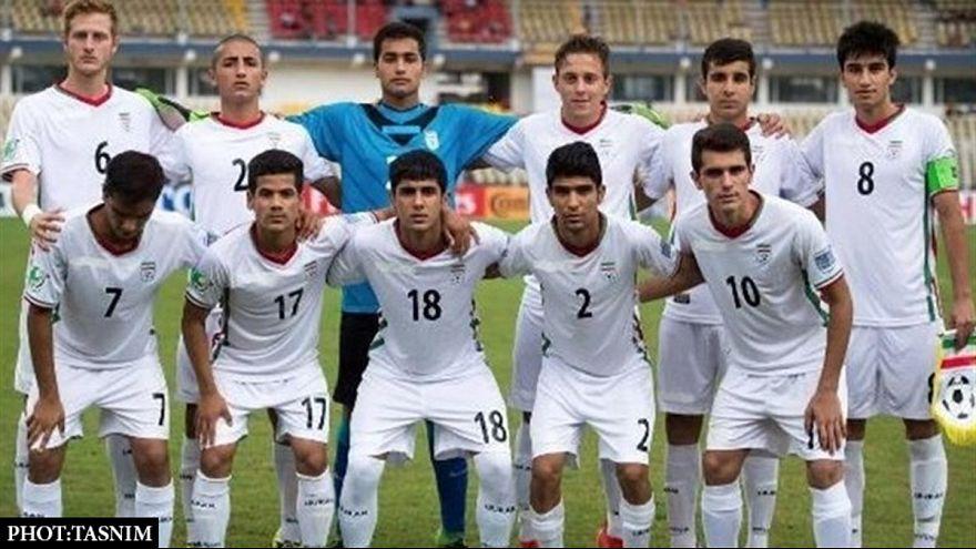 پیروزی پر گل نوجوانان ایرانی در مقابل آلمان