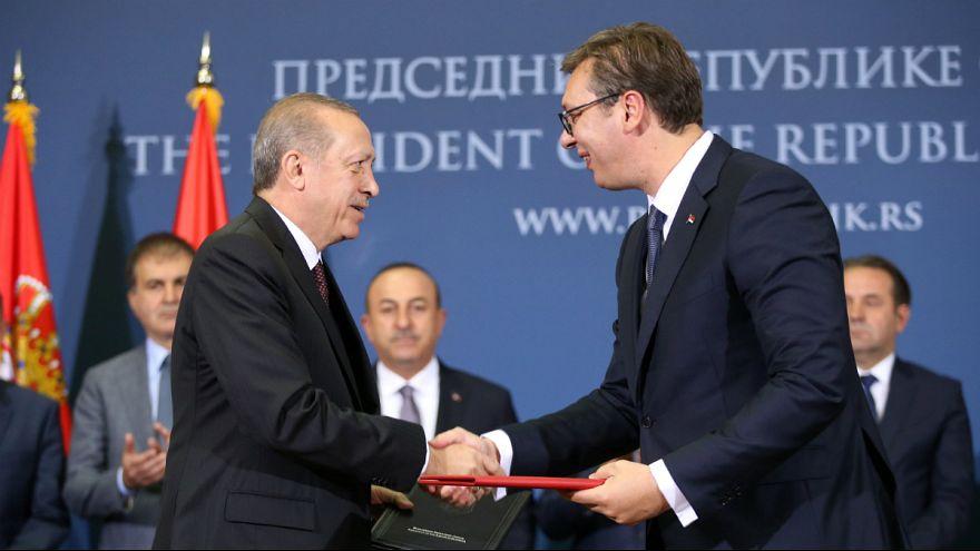16 megállapodást kötött Törökország és Szerbia