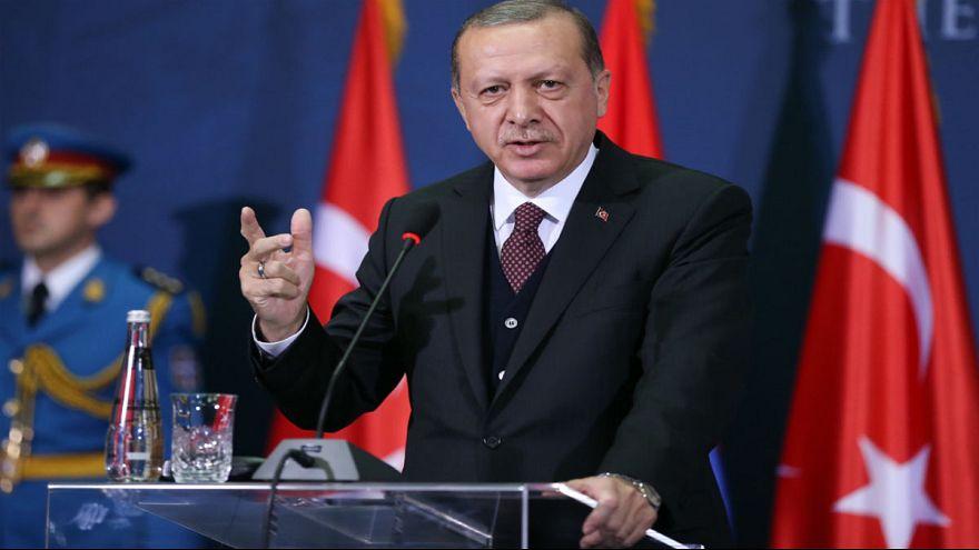 """Erdoğan'dan ABD'ye: """"Bu ajanlar Amerikan Başkonsolosluğu'na nasıl sızdı?"""""""