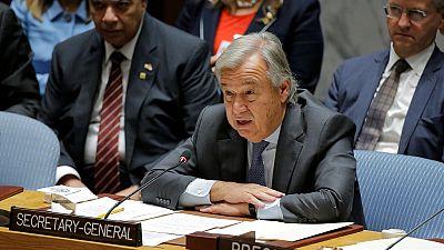 """Guterres: """"La peine de mort n'a pas sa place au 21e siècle"""""""