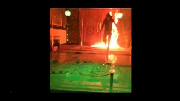 افرادی که مسجد جوادالائمه تهران را آتش زده بودند دستگیر شدند