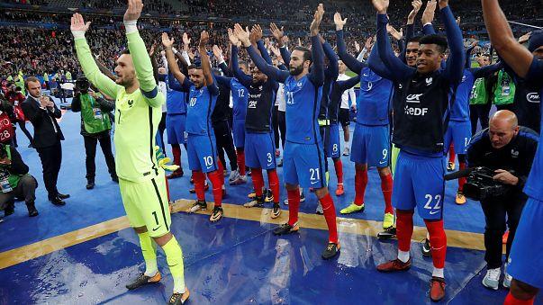بالصور ..فرنسا والبرتغال إلى مونديال روسيا 2018
