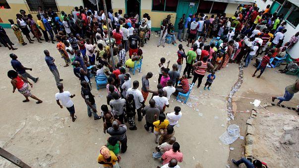 Contam-se os votos na Libéria