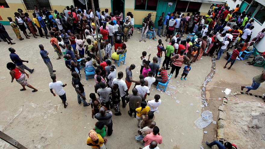 Vote counting underway in Liberia's landmark election