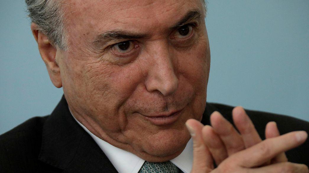 PSDB dá parecer favorável a Temer
