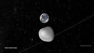 Aszteroida közeledik a Föld felé