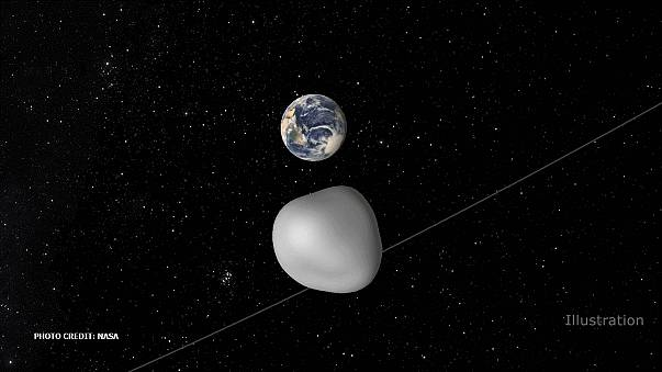 Asteroid offers chance to test Earth's alert system