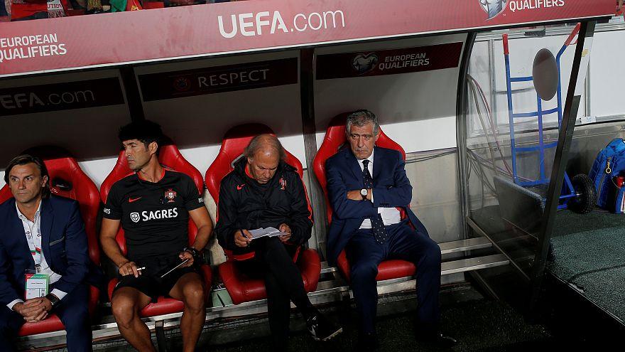 """""""Com esta equipa vou até ao fim do Mundo"""", garante Fernando Santos"""