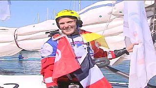 De la France à la Tunisie, la traversée en kitesurf de Doris Wetzel