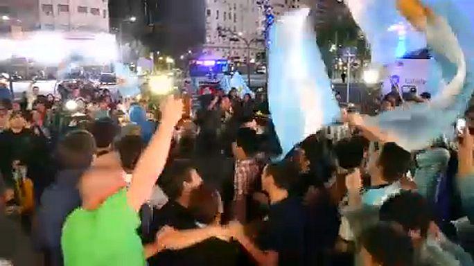 Argentína is kijutott a futball vb-re