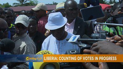 Liberia : l'heure à l'attente après la présidentielle