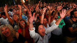 Desconcierto en los medios españoles tras la declaración de independencia de Puigdemont