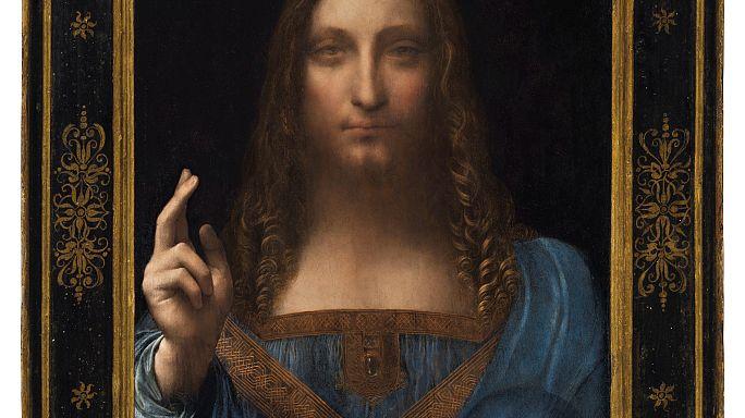 """Sale a subasta """"Salvator Mundi"""" de Leonardo da Vinci"""