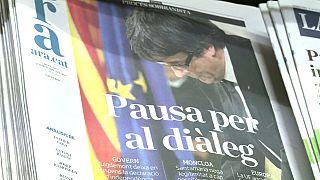 Beinahe-Unabhängigkeit: Katalanen zwischen Enttäuschung und Hoffnung