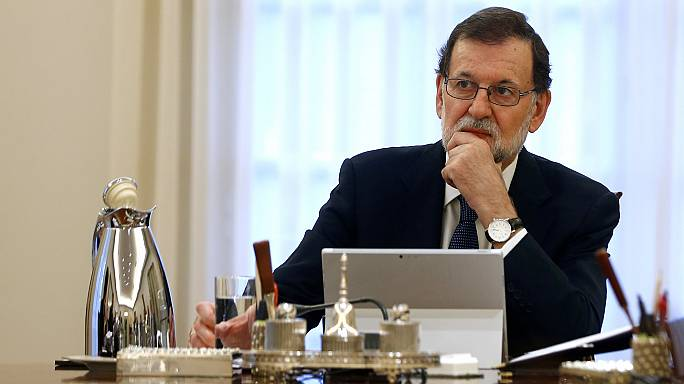 Spain's Prime Minister Mariano Rajoy says the Spanish government is to formally ask Catalan government if it has declared independence or not