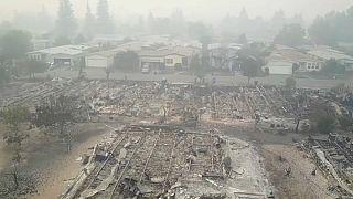 Μισό εκατομμύριο στρέμματα αποτεφρώθηκαν στην Καλιφόρνια