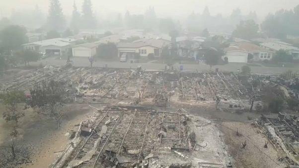 آتشسوزی جنگلی در شمال کالیفرنیا حداقل ۱۷ کشته بر جای گذاشت