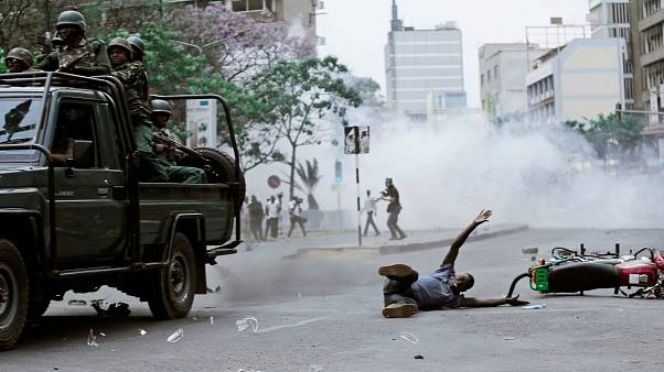 Kenya rocked by protests