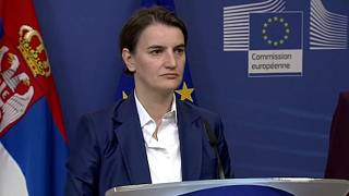 """Ана Брнабич: """"Сербия - не троянский конь России в ЕС"""""""