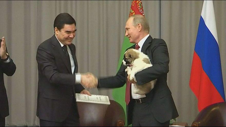 Putin'e en sevimli hediye
