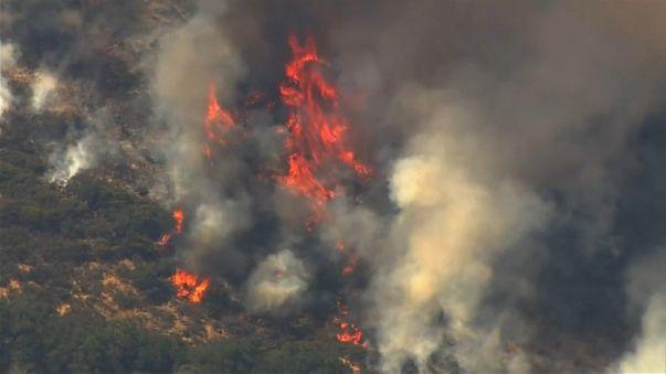 Wind may fan the flames in California
