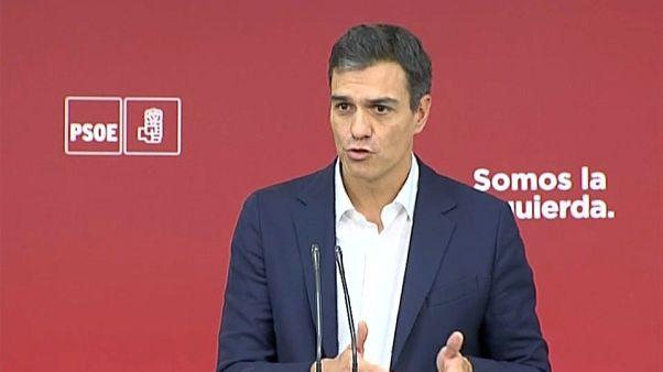 PSOE y Podemos marcan distancias ante la crisis soberanista
